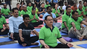 J P Nadda to lead Yoga Session at 69th session of WHO SEARO at Colombo