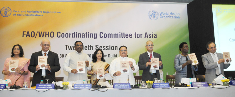 J P Nadda inaugurates 20th session of WHO/FAO Coordinating Committee of Asia