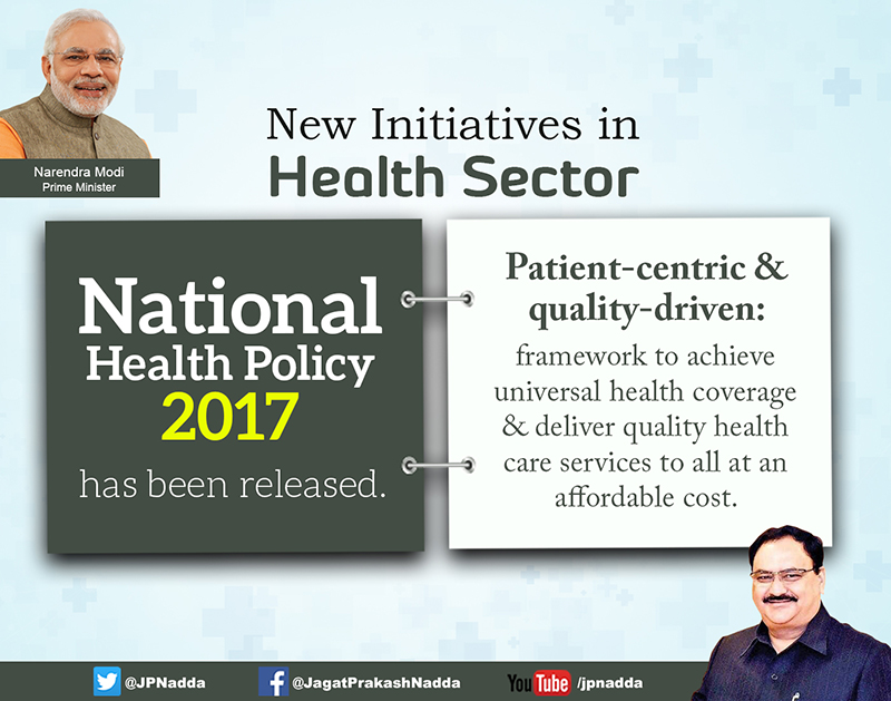 New Initiatives in Health Sector